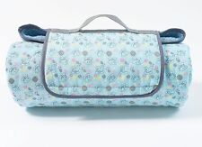 Roll Up, Patterned Canvas and Fleece Me To You Dog/Puppy Blanket RRP £25.00