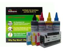 4 + 4 Refillable Ink Cartridge for HP 950 HP 951 Officejet Pro 8610 8620 8630