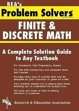 Problem Solvers Solution Guides: Finite and Discrete Math by Lutfi A....