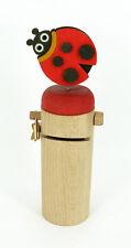 il pianeta delle idee - Salvadanaio in legno - coccinella - made in italy