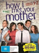How I Met Your Mother : Season 1-7 (DVD, 2013, 21-Disc Set)