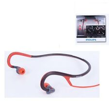 Philips SHQ4200 Sports neck band headphones ActionFit Orange & Grey