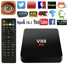 V88 Smart Android 5.1 1080P Player 8GB Super TV Box RK3229 KODI XBMC 4K