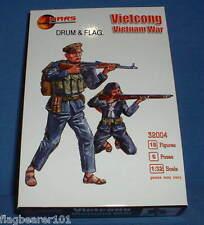 Mars 32004 Vietcong. guerra De Vietnam-escala 1/32 figuras de plástico sin pintar