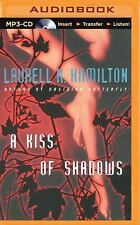 Meredith Gentry: A Kiss of Shadows 1 by Laurell K. Hamilton (2015, MP3 CD,...