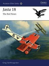 Osprey Book: Jasta 18 The Red Noses (German Air Service in WWII, Fokker DVII)