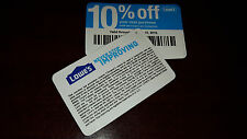 (10) Lowe's 10% Off Purchase - Competitors Only_Expire 6/15/2017 - Home Depot!