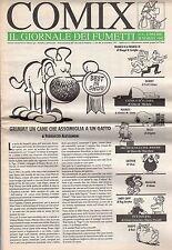 riviste fumetti- COMIX IL GIORNALE DEI FUMETTI Anno 1992 Numero 4