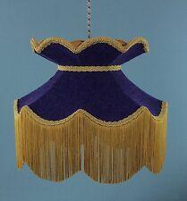 "victorian vintage lampshade Standard Pendant Handmade lampshade Harris Tweed 16"""