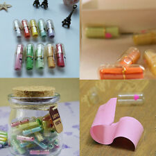 Preiswert 50 Pcs Lucid Smile Expression Mini Message Pills Meaningful Capsule