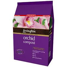 Levington Orchid Compost 8 Litre Bark & Peat Free Draining Plant Potting Blend