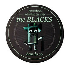 *banila co* The Blacks Hydrating Gel Mask Bamboo 50ml - Korea Cosmetic