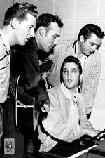 MILLION DOLLAR QUARTET POSTER - 24x36 ELVIS CASH LEWIS 241347