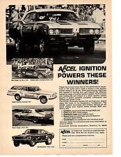 1970 DRAG RACING - NORM TANNER - KNAFEL PONTIAC/GTO - CUTLASS  ~  ORIG ACCEL AD