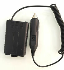 12~24V Car Charger Battery Adapter Eliminator For Baofeng UV5R 2 way Radio AA