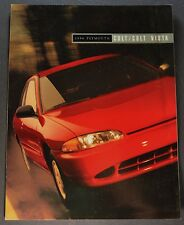 1994 Plymouth Colt Catalog Brochure Vista Excellent Original 94
