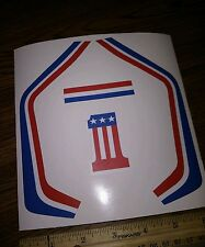 """EVEL KNIEVEL"" FAST TRACKER STICKERS"