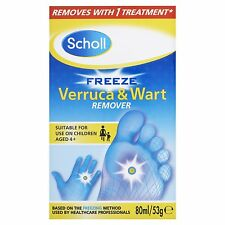 Scholl  Freeze Verruca & Wart  Remover 80ml/53g.....New & Boxed