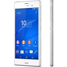 "Sony Xperia Z3 D6603 16GB White GSM Unlocked 5.2""  Smartphone 4G Cell Phone"