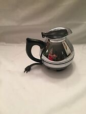 VINTAGE CORY STAINLESS STEEL MID CENTURY ELECTRIC coffee pot