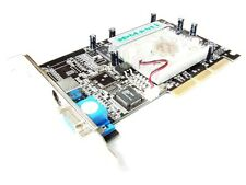 Manli Nvidia GeForce4 MX440 w/TV 64MB DDR VGA S-Video TV-Out AGP Graphics Card