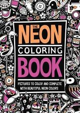 The Neon Coloring Book (2015, Paperback)