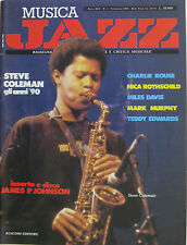 JAZZ 2 1989 Steve Coleman James P. Johnson Charlie Rouse Miles Davis Mark Murphy