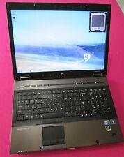 HP 8740w elitebook laptop I7-640m 2.8-3.46Ghz 8GB NEW 500GB hdd NVIDIA K3000m