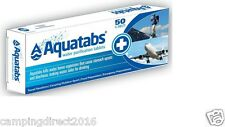 Freepost Aquatabs Potable Water Purification tablet treats 8- 10 litres 10 tabs