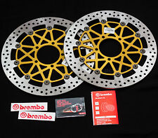 Pair of 330mm Brembo SuperSport Front Discs for Kawasaki ZX-10R 2016 - 208B85922