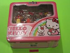 HELLO KITTY LUNCHBOX W/4 PEZ DISPENSERS NEW FACTORY SEALED