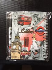 LONDON SOUVENIR NOTE PAD WITH LONDON PEN BRITISH ENGlAND UK  SOUVENIR GIFT