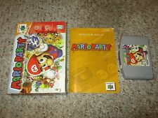 Mario Party 1 (Nintendo 64 n64, 1999) Complete in Box GREAT