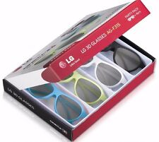 LG AG-F315 4 Pack of 3D Glasses for LG Cinema 3D TVs