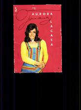 Aurora Lacasa Autogrammkarte Original Signiert ## BC 78733