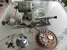 Swartchild U.S.A. Watchmakers lathe bundle with Motor, Foot Pedal, & Accessories