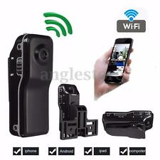MD81 Mini WIFI/IP Wireless Spy Cam Remote Surveillance DV Security Micro Camera