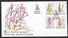 pa151 ORCHIDEEN/ Südafrika-Transkei MiNr 279/82 **