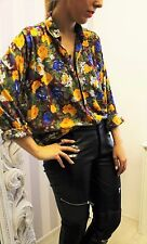 URBAN OUTFITTERS Floral VTG 90's Autumn Blogger CHIC AVANT GARDE Shirt 12