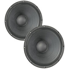 """Pair Eminence Kappa Pro-15A 15"""" Sub Woofer 8 ohm 101dB 3""""VC Replacement Speaker"""