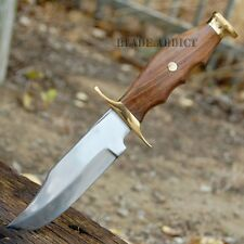 "10.5"" MOUNTAIN MAN FIXED BLADE BOWIE SKINNING KNIFE Hunting Skinner Camping"