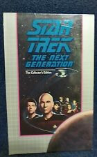 Star Trek The Next Generation Collector's Edition VHS Attached & Force of Nature