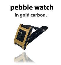Con Textura De Piel Para Pebble Reloj Sticker Decal Protector Cubierta