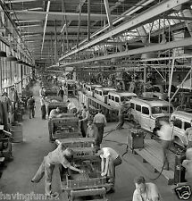 1942 Chrysler Corp Dodge Truck Assembly Plant 8 x 8 Photograph