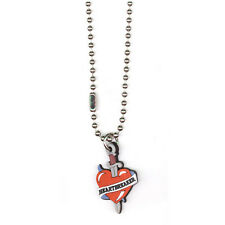 COLGANTE Heartbreaker . pendant necklace pin up rockabilly gothic punk