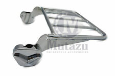 Mutazu Two Up Luggage Rack for Harley Touring Detachable Sissy Bar 97-08 FLT FLH