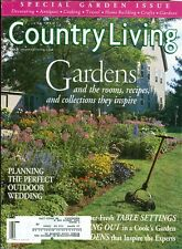 1999 Country Living Magazine: Gardens/Planning Outdoor Wedding/Table Settings