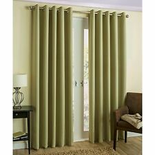 """Empire Amber Solid Thermal Blackout Grommet Window Curtain Panel Extra Wide 54"""""""