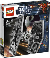 LEGO Star Wars 9492 - TIE Fighter (USED SET , Completed with Instruction & Box)