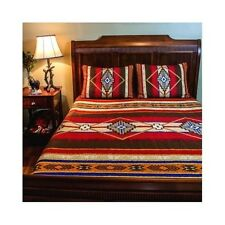 Southwest Bedding King Southwestern Style Red Quilt 2 Shams Set Hypoallergenic